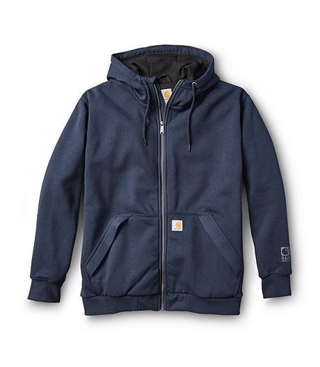 Men's New Navy Midweight Thermal Lined Sweatshirt
