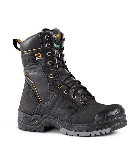 c783382fbc9f Dakota Men s 8   Quad Steel Toe Composite Plate Internal Metguard Work Boots