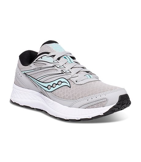 Women's Cohesion 13 Running Shoes - Grey/Black