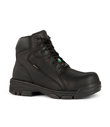 Men's 6 In Falcon Hi Metal Free Composite Toe Composite Plate  Work Boots