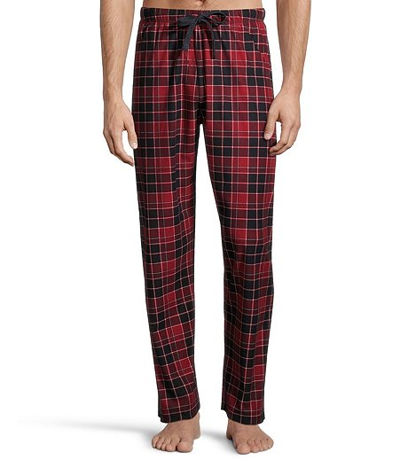 Men's Microfleece Plaid Pant