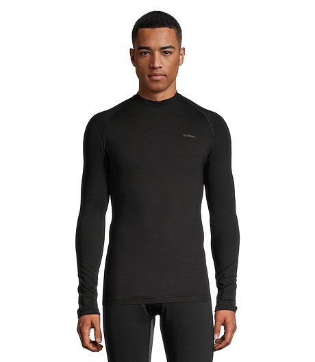 Men's Performance Long Sleeve Raglan Crew Neck Top, Tall