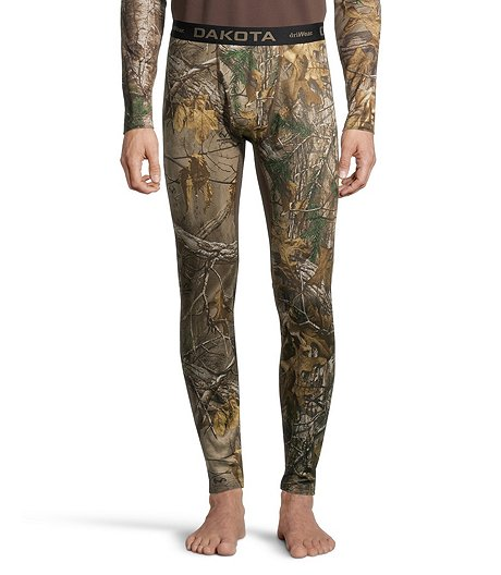 Men's Performance Baselayer Camo Pants