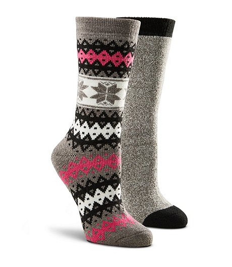 Women's T-Max 2 Pack Light Weight Thermal Crew Socks
