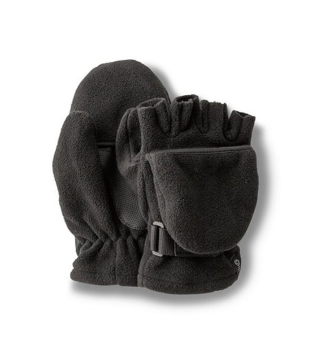 Fleece Flip Thinsulate Mitts