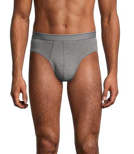 Men's Yarn Dye 4 Pk Sport Brief
