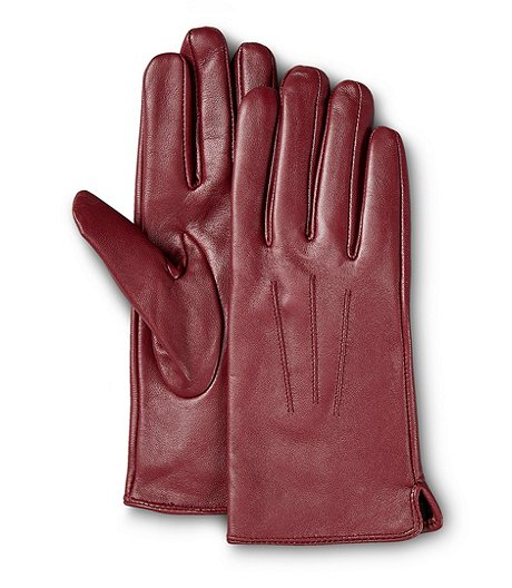 Women's T-Max Lined Leather Gloves