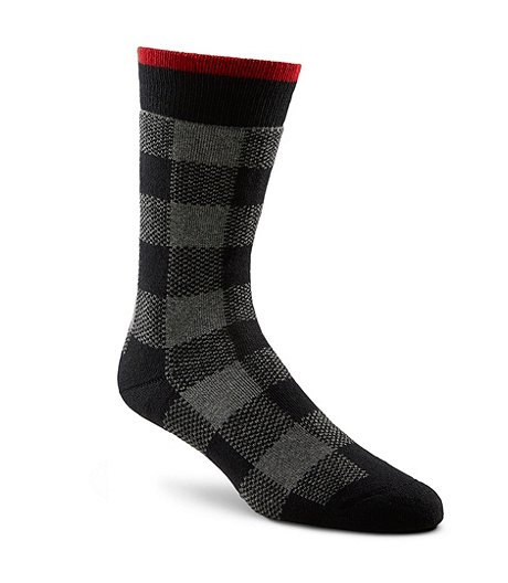 Men's Heritage Plaid Outdoor Boot Sock