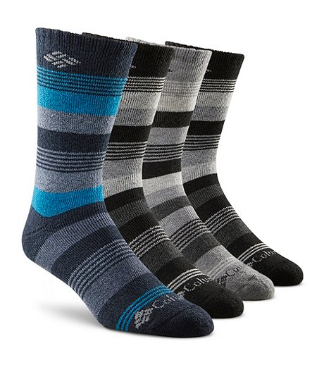 Men's 4 Pack Thermal Boot Sock