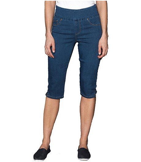 Women's Liette Denim Capris - ONLINE ONLY