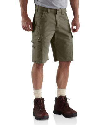 Men's Carhartt Rip-Stop Work Shorts Moss Regular