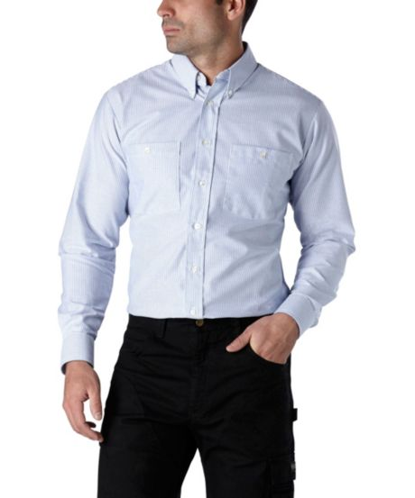 Men S Stripe Oxford Shirt Mark S