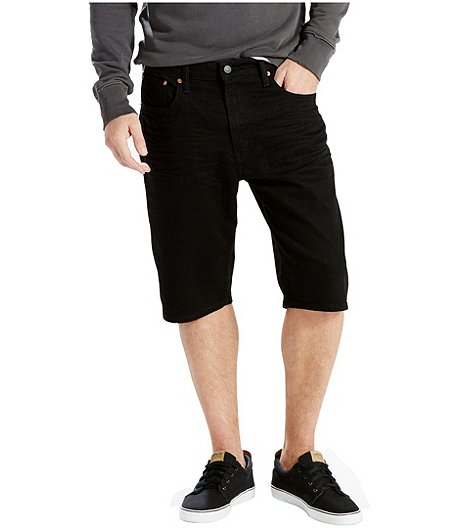 Men's 569 Loose Straight Black Shorts