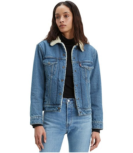 Women's Ex-Boyfriend Sherpa Trucker Jacket