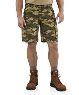 Men's Carhartt Rugged Cargo Camo Shorts Camo
