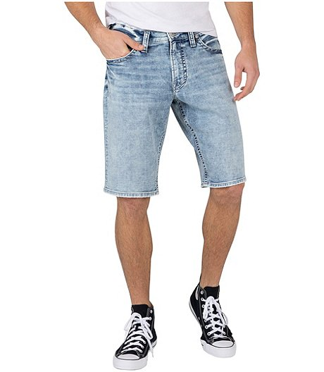 Men's Zac Relaxed Fit Light Wash Shorts
