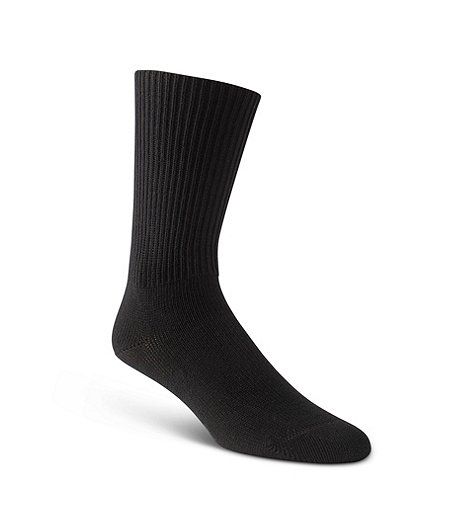 Men's Comfort Black Socks