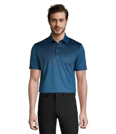 Men's Driwear Polo Melange Graphic