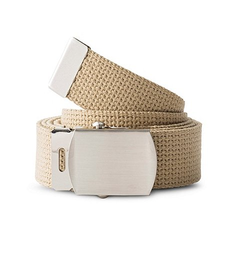 9ef63f706 Denver Hayes 1-1 4 Cotton Web Belt