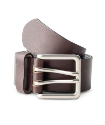 Men's Dakota Double Prong Belt BROWN