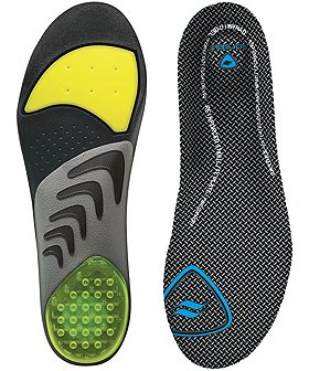 Sof Sole Airr Orthotic Insole With Stability Plate