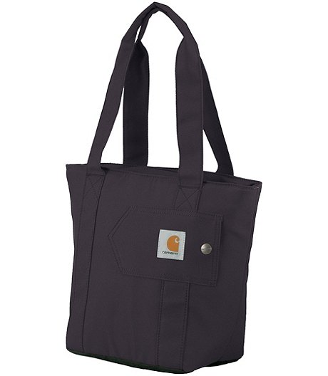 Women's Water Repellent Cooler Lunch Tote Bag - Dark Purple