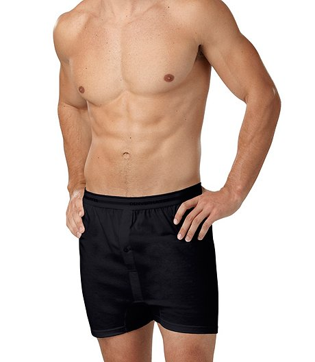 Denver Hayes Men s 2-Pack Loose Fit Boxers ... 976f1e858