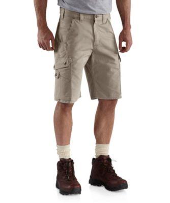 Men's Carhartt Rip-Stop Work Shorts Desert