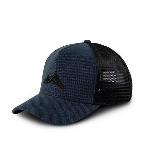 Men's Embroidered Mesh Back Ball Cap