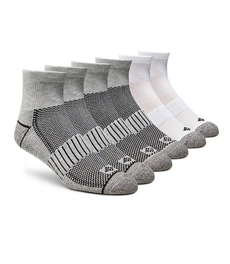 Men's 6-Pack Quarter Crew Sport Sock