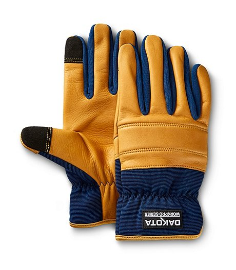 Dryhide Cowhide and Spandex Driver Glove