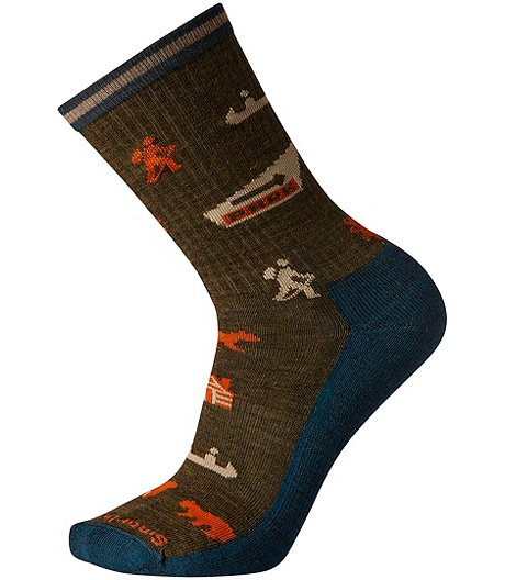 Men's Hike Light Explorer Crew Sock