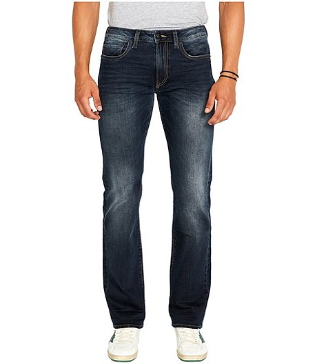 Men's Driven Relaxed Straight Stretch Dark Wash Jeans