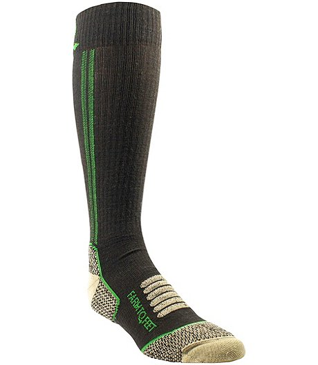 Men's Ely Hunt/Fish Light Targeted Cushion Midcalf Socks