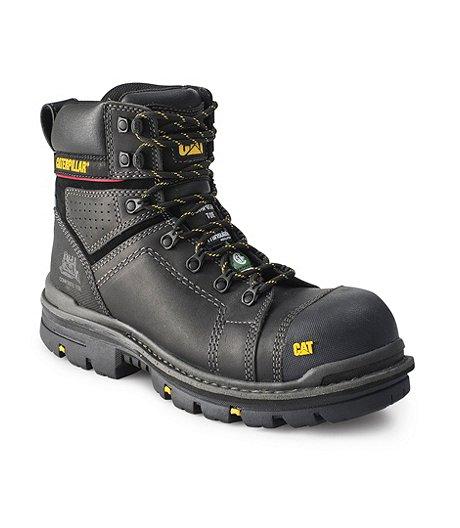ff7a8453e719 Caterpillar - CAT Men s 6   Hauler Waterproof Composite Toe Composite Plate Work  Boots