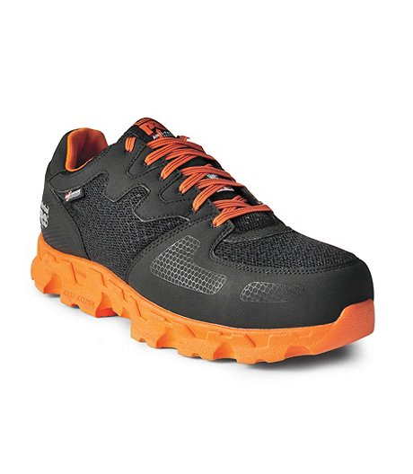 fcbaba19 Timberland PRO Men's Powertrain Aluminium Toe Composite Plate Athletic  Safety Shoes