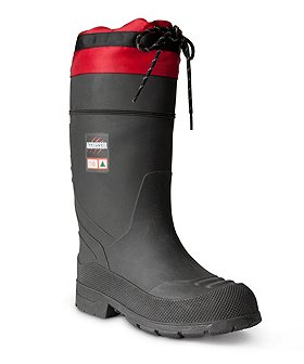 Aggressor Women's Insulated Steel Toe Steel Plate Rubber Boots