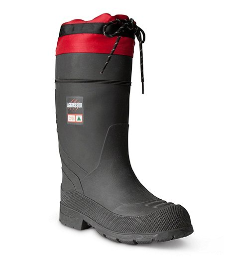 d0f7e6eca849a Aggressor Women s Insulated Steel Toe Steel Plate Rubber Boots ...