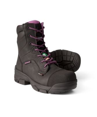 a4a31cf0af94 Women s 8 Inch Waterproof Condor Composite Toe Composite Plate Work Boots  Black 5 ...