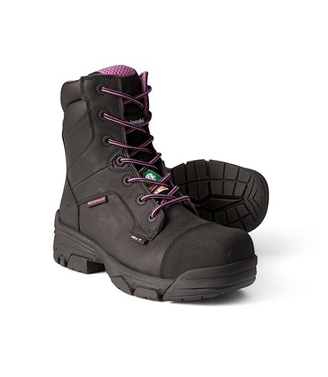 07b8168e2a7 Women's 8 Inch Waterproof Condor Composite Toe Composite Plate Work Boots