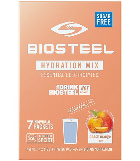 7-Pack Hydration Mix Naturally Sweetened with Stevia - Peach Mango