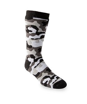 T-Max Heat Men's Dual Layer Print Socks