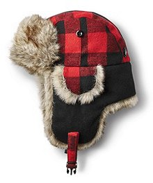 3f451a52b80 WindRiver Wool Plaid Aviator Hat ...