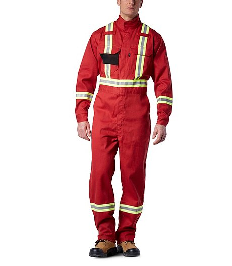 1458624a4638 Dakota Men s Flame Resistant 9oz. Amplitude® Deluxe Coverall With  Reflective Tape