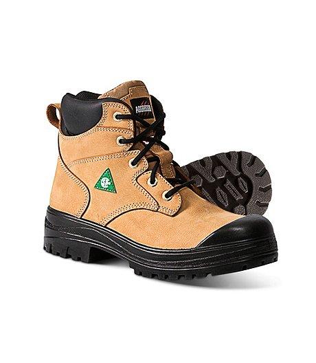 87e99a94a39a Aggressor Women s 6 Inch Lynx II Steel Toe Steel Plate Work Boots