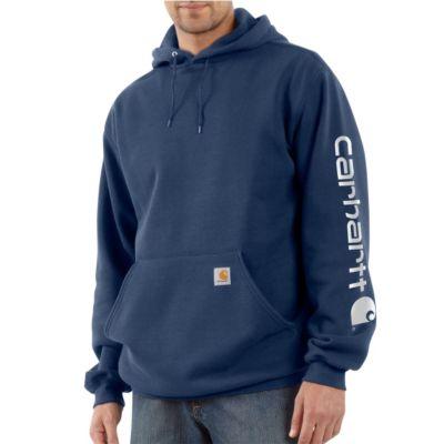 Men's Midweight Hooded Logo Sweatshirt |