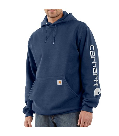 Men's Midweight Hooded Logo Sweatshirt