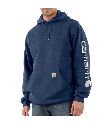 739b732e9 Carhartt Men's Midweight Hooded Logo Sweatshirt