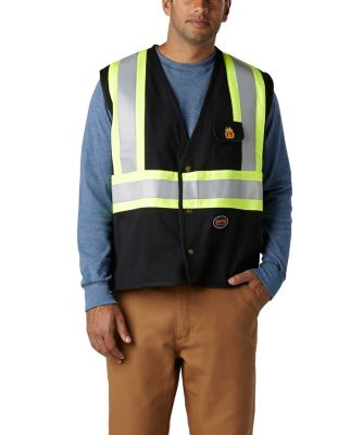 39a1ee1c8b2 MEN S FR COTTON KNIT SAFETY VEST