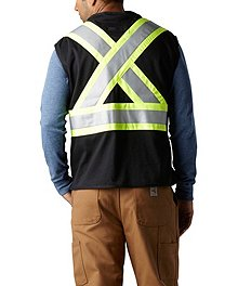 5c2b6cdbb14 ... Pioneer Men s FR Cotton Knit Safety Vest